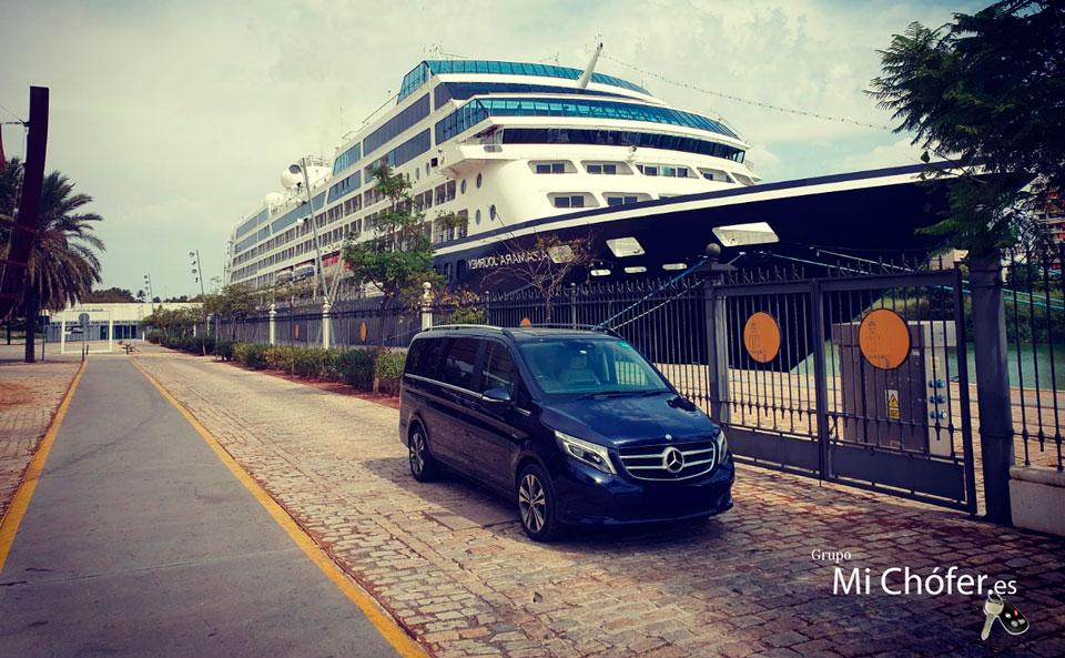 Transporte privado para cruceros